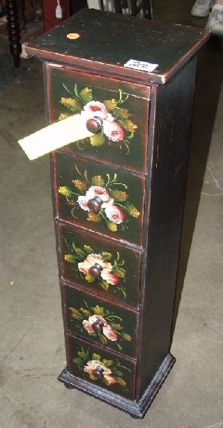 200: Painted Spice Cabinet