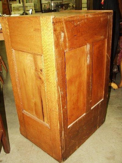 219: Tiger Oak Spool Cabinet - 3