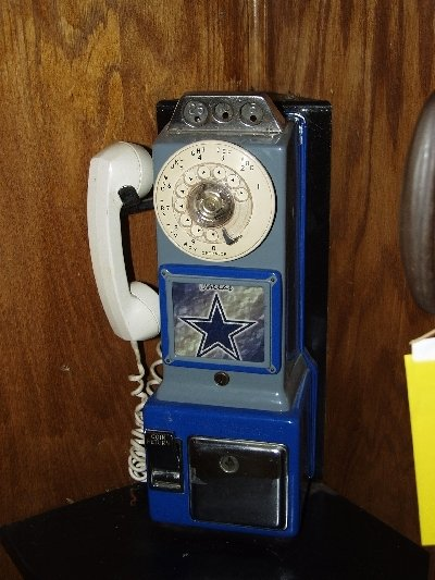 223: Vintage Wooden Telephone Booth - 3