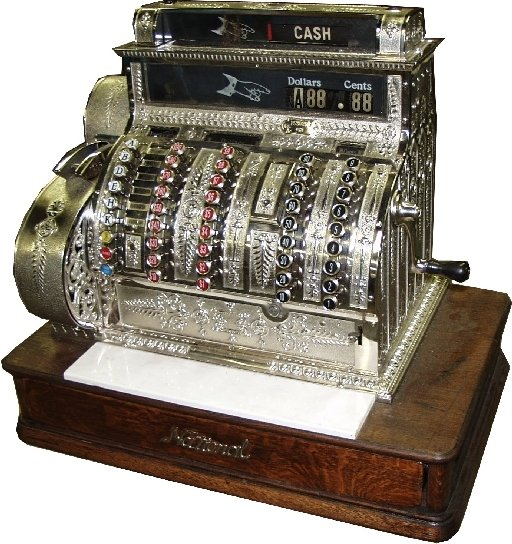 226: National Brass Cash Register