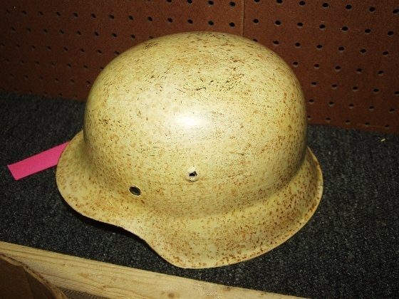 232: World War II German Alpine Ski Troop Helmet
