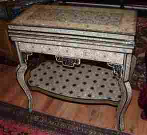69: Mother of Pearl Inlaid Game Table