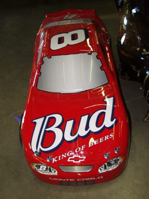 250: Budweiser Dale Earnhardt Jr. #8 Display Car 6 Foot - 2