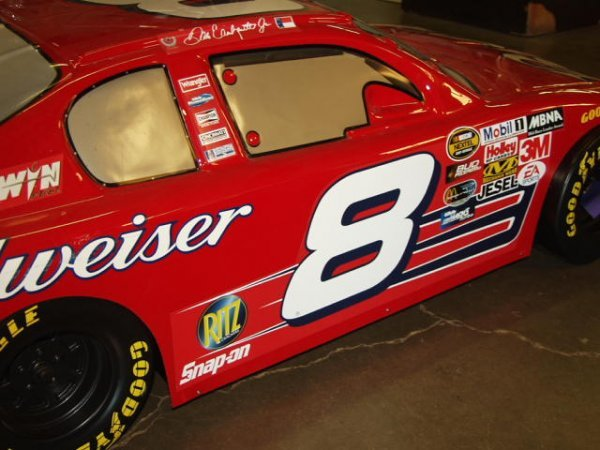 250: Budweiser Dale Earnhardt Jr. #8 Display Car 6 Foot - 5