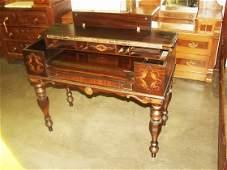 313: Walnut Spinnet Desk