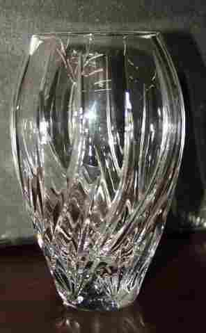 Waterford Crstal Vase Signed