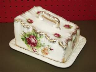 Porcelain Cheese Keeper