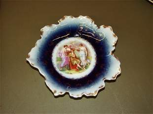 Victorian Hand Painted Plate From Austria