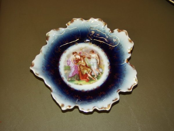 1006: Victorian Hand Painted Plate From Austria
