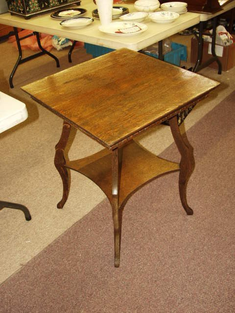 1017: Antique Parlor Table