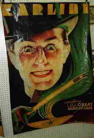 Karlini The Magician Canvas Poster 5 foot tall
