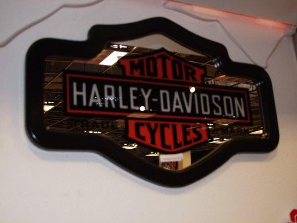 2: Harley Davisdson Mirror