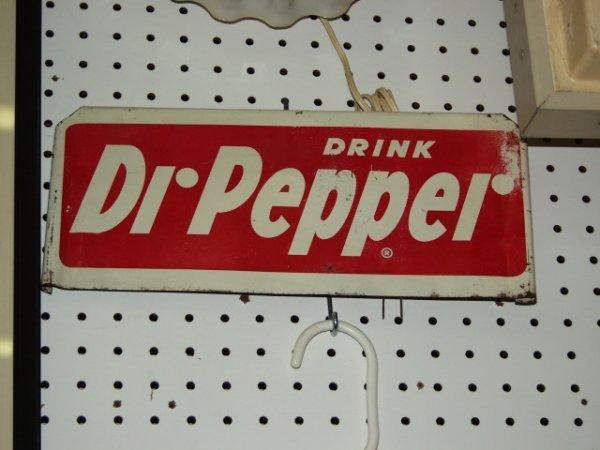 6: Dr Pepper 50's Rack Sign
