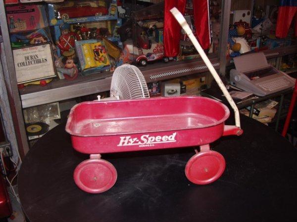 8: Hy Speed Wagon Toy Mini Circa 1930's to 40's