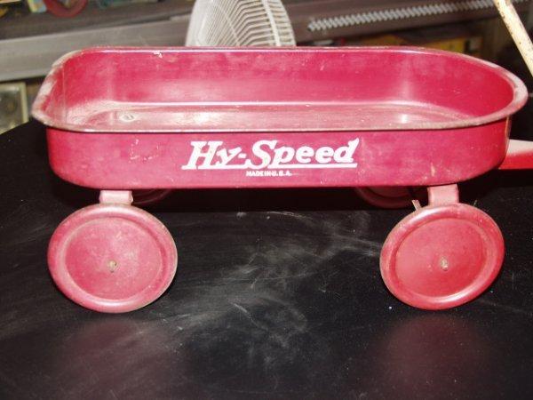 8: Hy Speed Wagon Toy Mini Circa 1930's to 40's - 2
