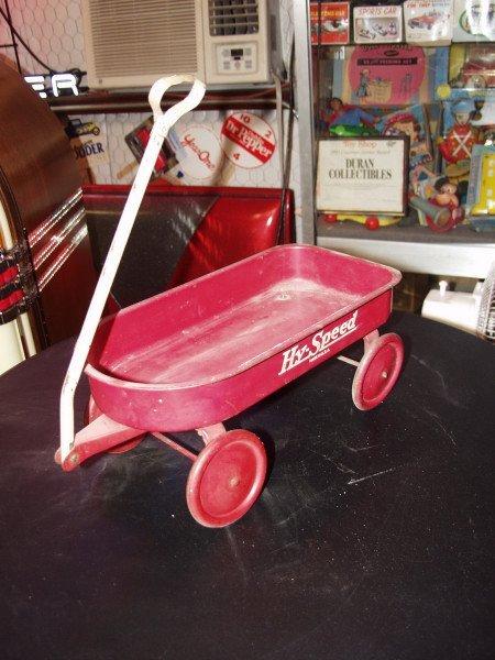 8: Hy Speed Wagon Toy Mini Circa 1930's to 40's - 3
