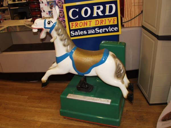 11: Coin Op Donkey Kiddy Ride