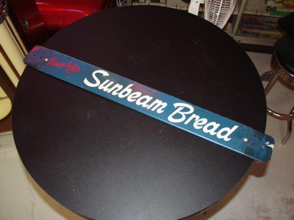 15: Sunbeam Bread Sign Door Push