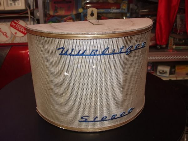 18: Wurlitzer Speaker Late 1950's JukeBox