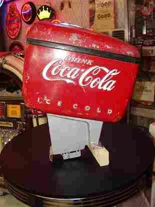 "20: Vintage Coke ""Boat Motor"" Dispenser Coca Cola"