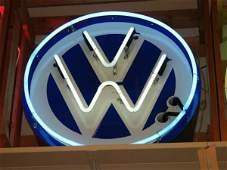 29 Neon VW Sign Volkswagen Large