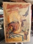 10G: Barnum & Bailey Poster on Canvas over 5 Foot Tall