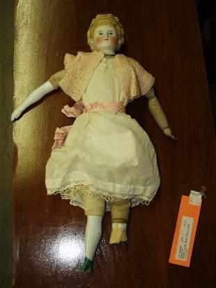 504: Antique Porcelain Doll Circa 1800's