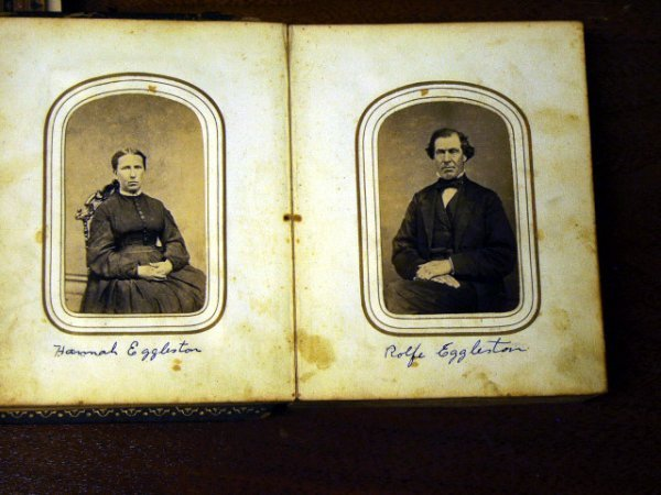 513: Antique Photo Album 37 Photos