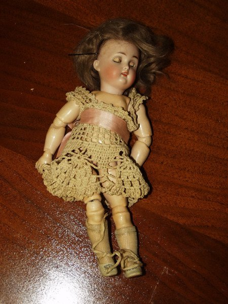 506: Antique German Made Jointed Doll