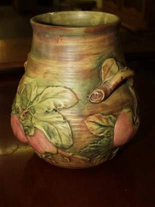 4: Vintage Weller BALDIN (BALDWIN) Apple Vase