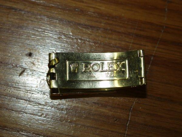6: Rolex 14kt Watch Clasp
