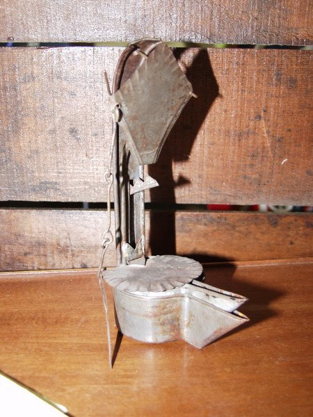 12: Whale Oil Betty Lamp