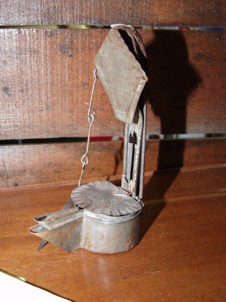 12: Whale Oil Betty Lamp - 2