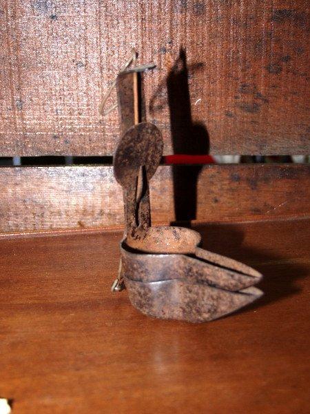 15: Whale Oil Betty Lamp