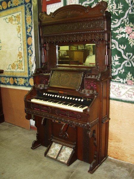 28: Needham Pump Organ