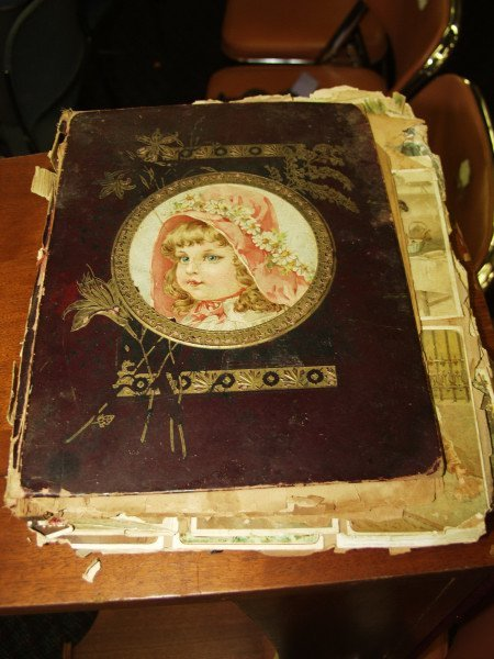 302: Antique Trade Card Scrap Book
