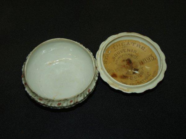 305: 1893 Star Theatre Souvenir Powder Box
