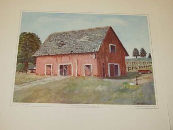 420: The Eisenhower Paintings Collection 4 Prints - 3