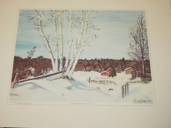 420: The Eisenhower Paintings Collection 4 Prints - 4