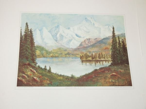 420: The Eisenhower Paintings Collection 4 Prints - 5