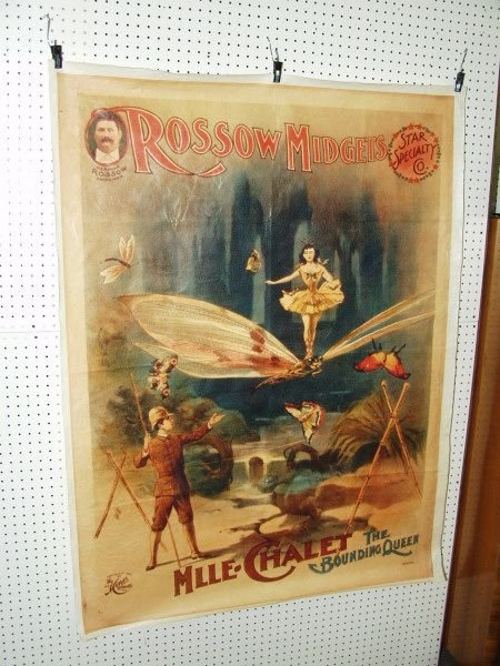 305G: Canvas Poster Rossow Midgets Circus