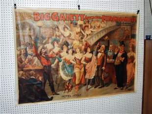 Big Gaiety Theater Canvas Poster