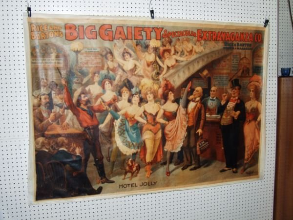 315G: Big Gaiety Theater Canvas Poster