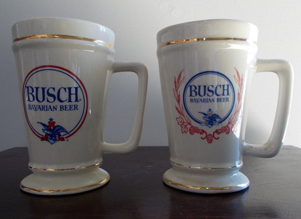 1960's Busch Bavarian Beer Mug
