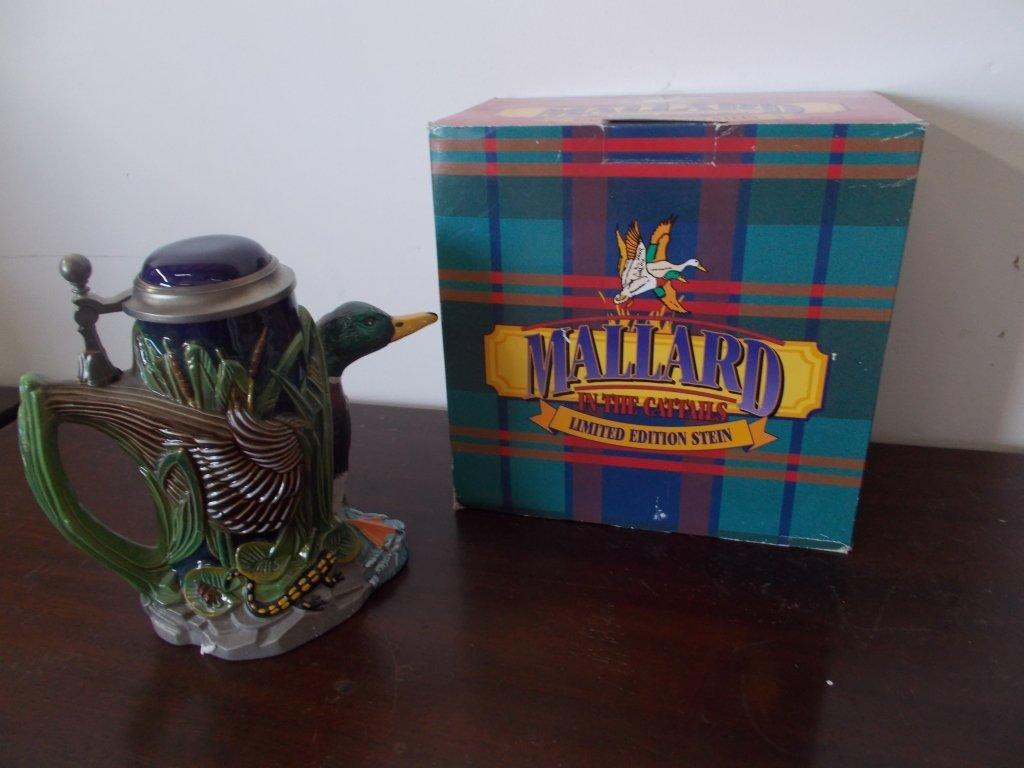 Mallard In the Cattails