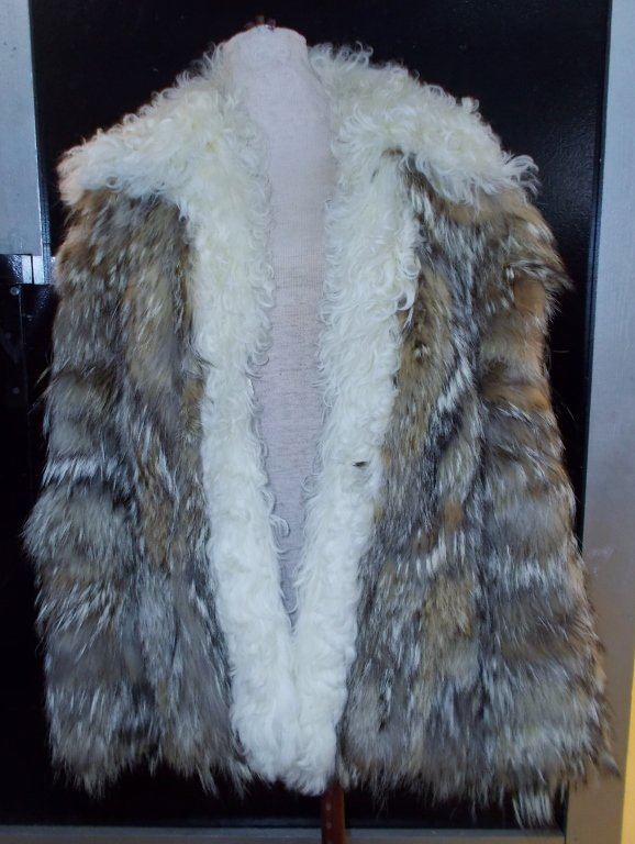 Northern Wolf and Angora Jacket