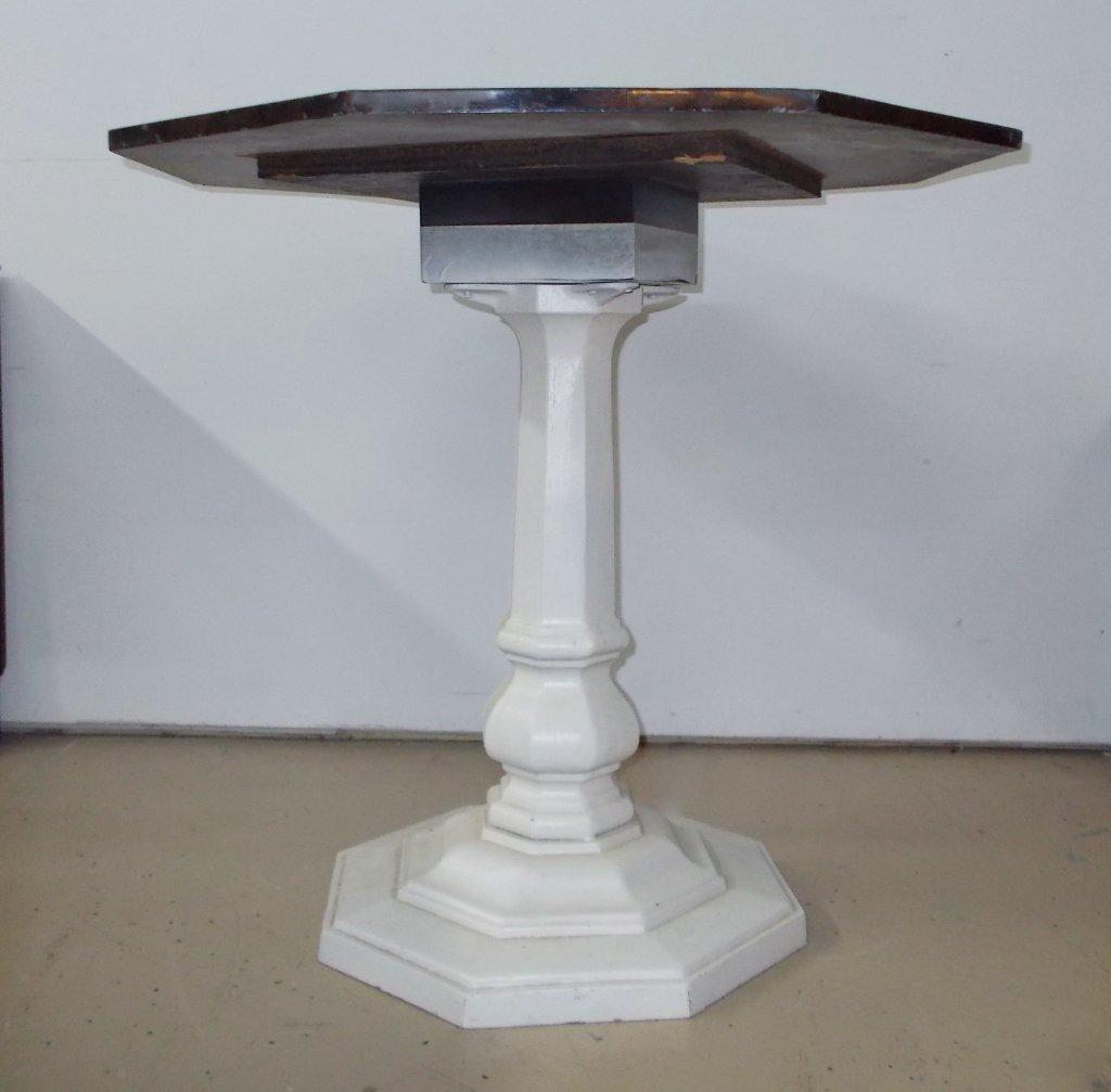 Octagonal Stone Table #922