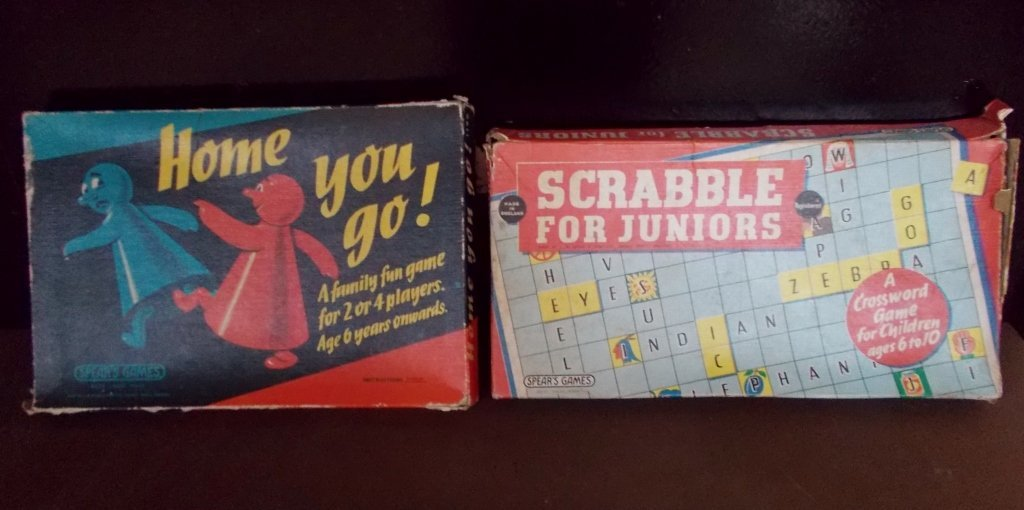 Vintage Board Games #948