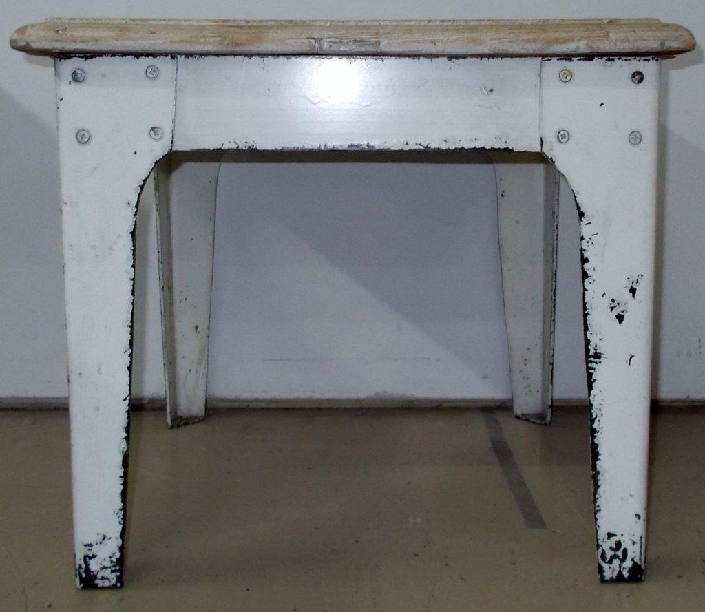 Wood & Metal Side Table *915
