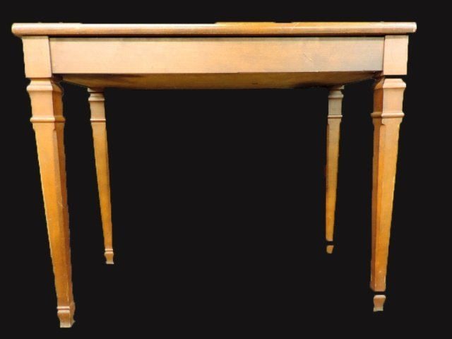 Light Wood Piano Bench
